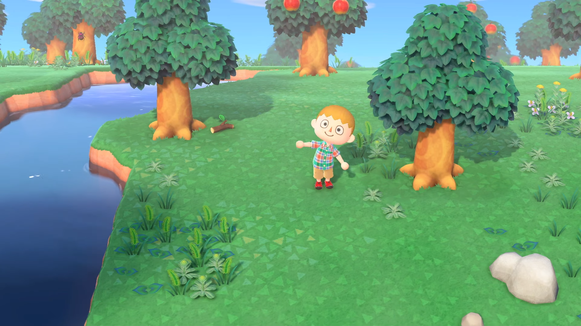 Insecte ressemblant au bousier, Animal Crossing: New Horizons