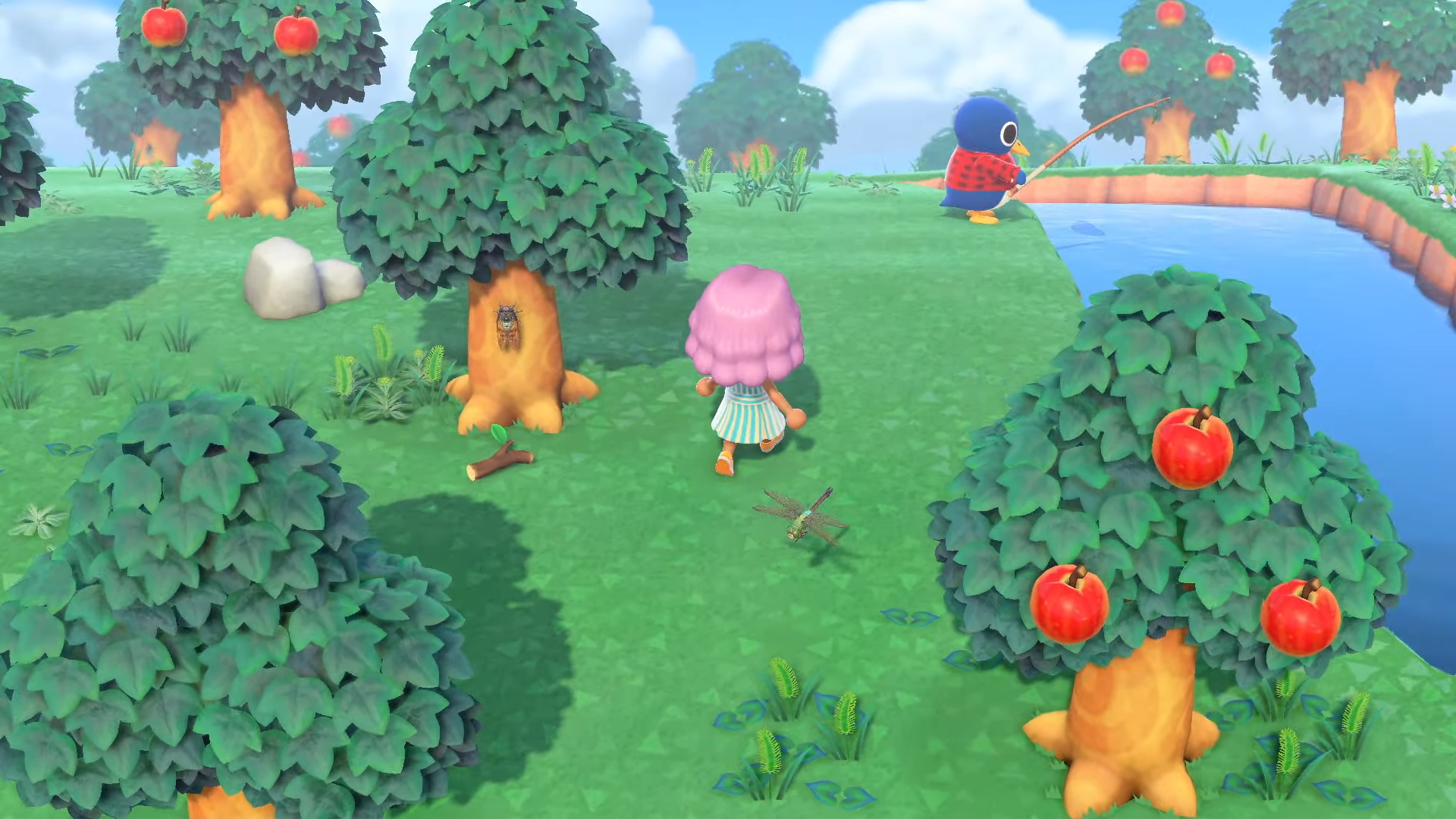Insecte inconnu, Animal Crossing: New Horizons