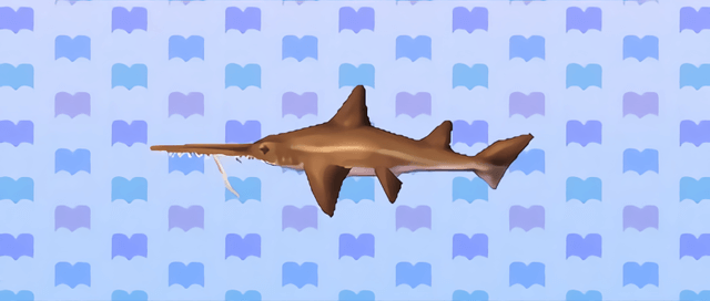 Animal Crossing New Leaf Requin scie