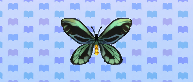 Animal Crossing New Leaf Ornithoptère