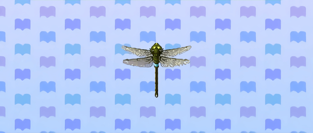 Animal Crossing New Leaf Anax napolitain