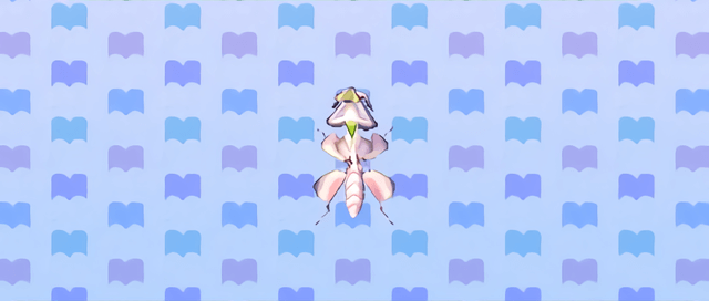 Animal Crossing New Leaf Mante orchidée