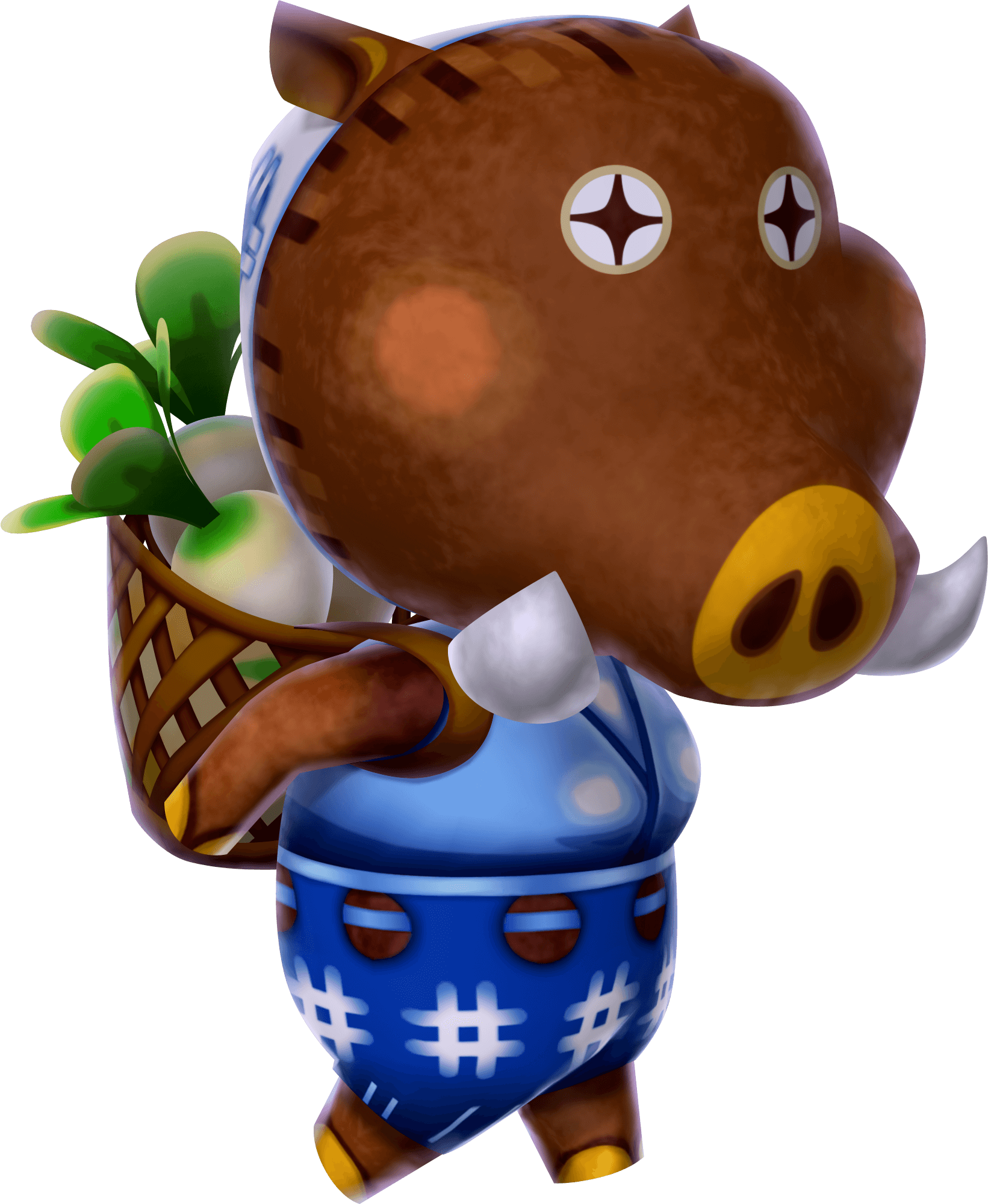 Porcella, Animal Crossing New Leaf