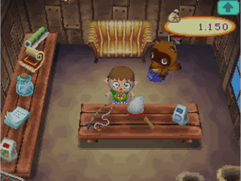Boutique de Tom Nook, Animal Crossing : Wild World